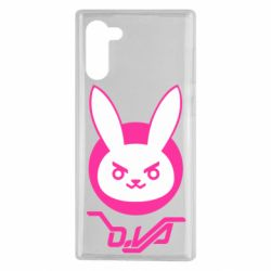 Чехол для Samsung Note 10 Overwatch dva rabbit