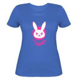 Жіноча футболка Overwatch dva rabbit