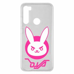 Чехол для Xiaomi Redmi Note 8 Overwatch dva rabbit