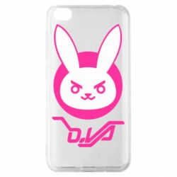 Чехол для Xiaomi Redmi Go Overwatch dva rabbit