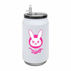 Термобанка 350ml Overwatch dva rabbit