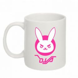 Кружка 320ml Overwatch dva rabbit