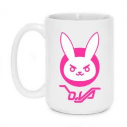 Кружка 420ml Overwatch dva rabbit