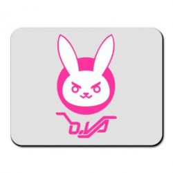 Килимок для миші Overwatch dva rabbit