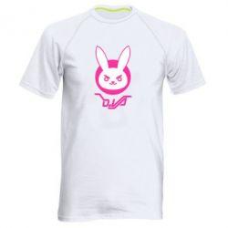 Чоловіча спортивна футболка Overwatch dva rabbit