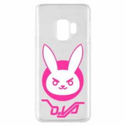 Чехол для Samsung S9 Overwatch dva rabbit