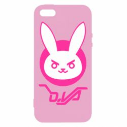 Чехол для iPhone5/5S/SE Overwatch dva rabbit