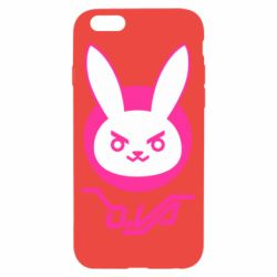 Чехол для iPhone 6/6S Overwatch dva rabbit