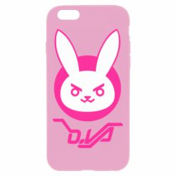 Чехол для iPhone 6 Plus/6S Plus Overwatch dva rabbit