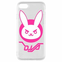 Чехол для iPhone 7 Overwatch dva rabbit