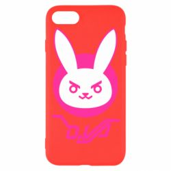 Чехол для iPhone 8 Overwatch dva rabbit