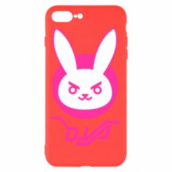 Чехол для iPhone 8 Plus Overwatch dva rabbit