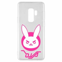 Чехол для Samsung S9+ Overwatch dva rabbit