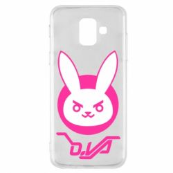 Чехол для Samsung A6 2018 Overwatch dva rabbit