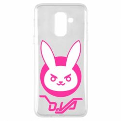 Чехол для Samsung A6+ 2018 Overwatch dva rabbit