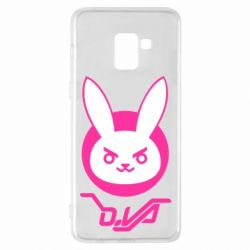 Чехол для Samsung A8+ 2018 Overwatch dva rabbit