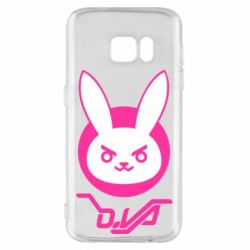 Чехол для Samsung S7 Overwatch dva rabbit