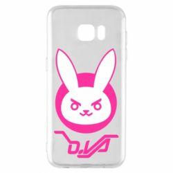 Чехол для Samsung S7 EDGE Overwatch dva rabbit