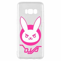 Чехол для Samsung S8 Overwatch dva rabbit