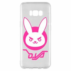 Чехол для Samsung S8+ Overwatch dva rabbit