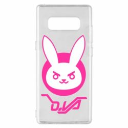 Чехол для Samsung Note 8 Overwatch dva rabbit