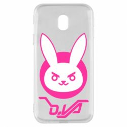 Чехол для Samsung J3 2017 Overwatch dva rabbit
