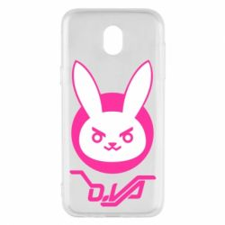 Чехол для Samsung J5 2017 Overwatch dva rabbit