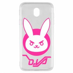 Чехол для Samsung J7 2017 Overwatch dva rabbit