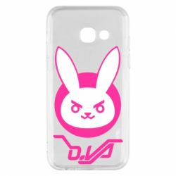 Чехол для Samsung A3 2017 Overwatch dva rabbit