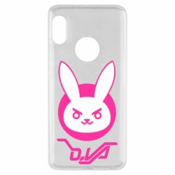 Чехол для Xiaomi Redmi Note 5 Overwatch dva rabbit
