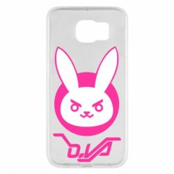 Чехол для Samsung S6 Overwatch dva rabbit