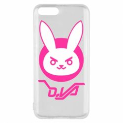 Чехол для Xiaomi Mi6 Overwatch dva rabbit