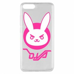 Чехол для Xiaomi Mi Note 3 Overwatch dva rabbit