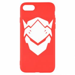 Чехол для iPhone 8 Overwatch Genji