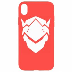 Чехол для iPhone XR Overwatch Genji
