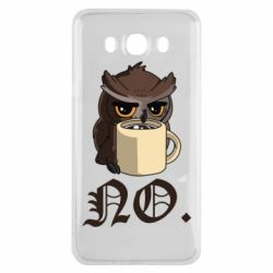 Чехол для Samsung J7 2016 Owl and coffee