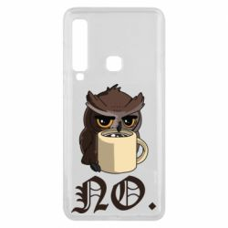 Чехол для Samsung A9 2018 Owl and coffee