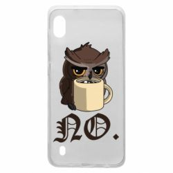 Чехол для Samsung A10 Owl and coffee