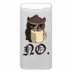 Чехол для Samsung A80 Owl and coffee