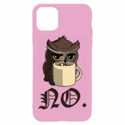 Чехол для iPhone 11 Owl and coffee