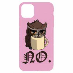 Чехол для iPhone 11 Pro Owl and coffee