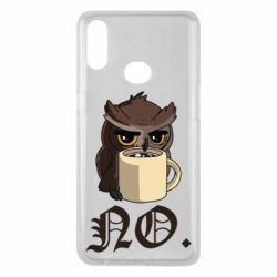 Чехол для Samsung A10s Owl and coffee