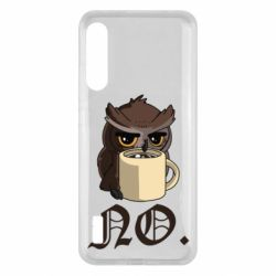 Чохол для Xiaomi Mi A3 Owl and coffee