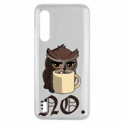 Чехол для Xiaomi Mi9 Lite Owl and coffee