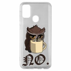 Чехол для Samsung M30s Owl and coffee