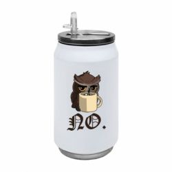 Термобанка 350ml Owl and coffee
