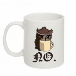 Кружка 320ml Owl and coffee