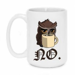 Кружка 420ml Owl and coffee