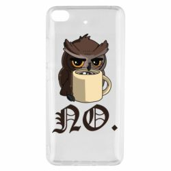 Чехол для Xiaomi Mi 5s Owl and coffee