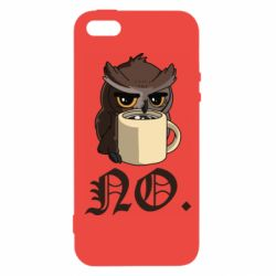 Чехол для iPhone5/5S/SE Owl and coffee